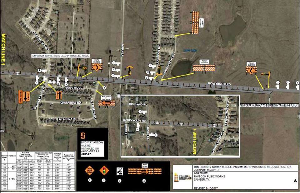 McReynolds rd project map