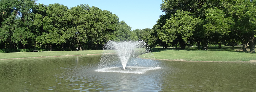 Sanger Sports Park Fountain